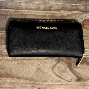 MICHAEL KORS Wallet, Black, EUC